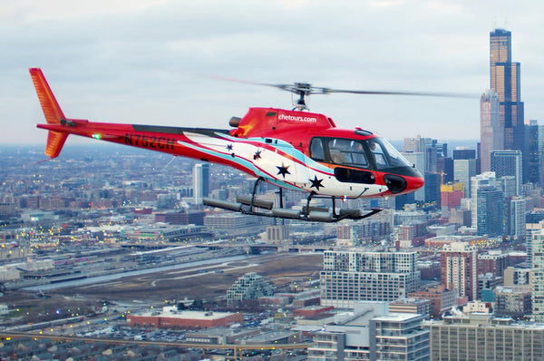 Save 10% Off Day or Night Helicopter Tour