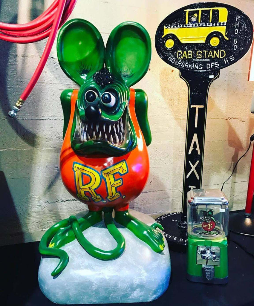 "Rat Fink by Ed "" Big Daddy"" Roth items have arrived!!"