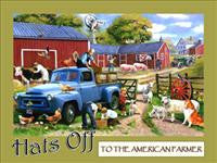 Country Life Metal Signs
