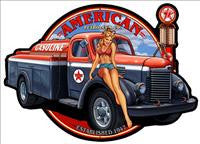 Automotive Pin-Up Metal Signs