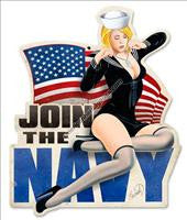 Military Pin-Up Signs