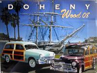 Doheny Woody Metal Signs