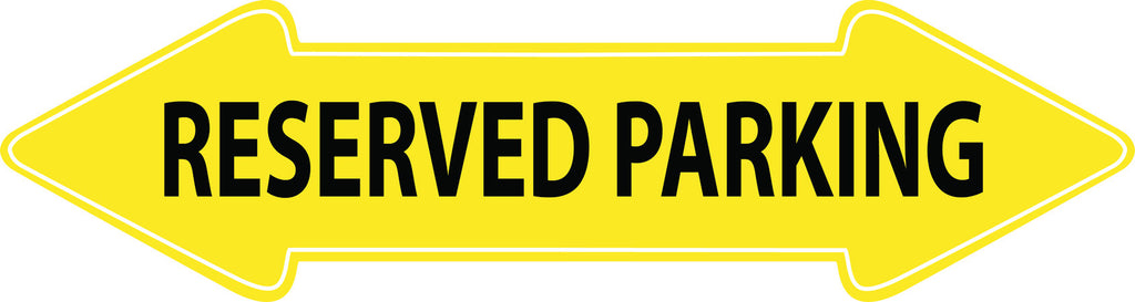 Reserved Parking (arrow)