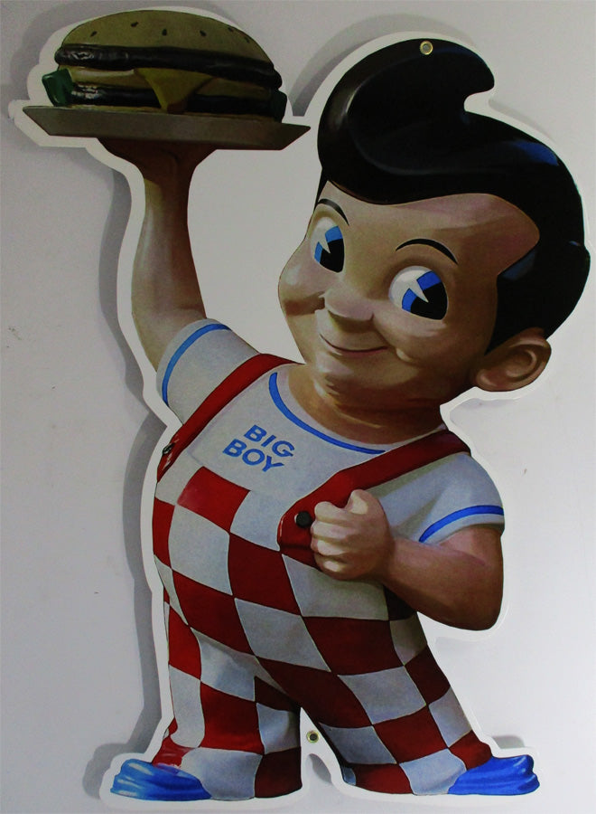 Bob's Big Boy (jumbo) Metal Sign