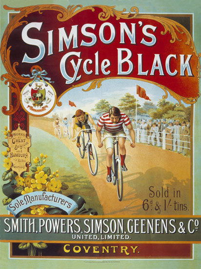 Simson's Cycle Black