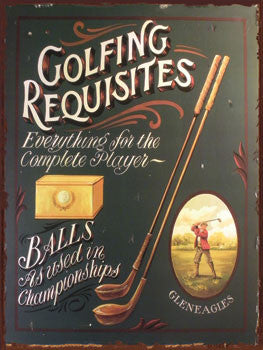 Golfing Requisties