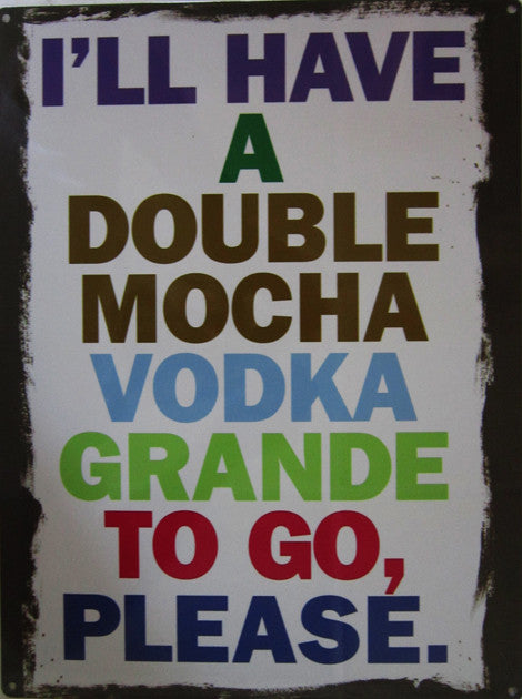 Double Mocha Vodka