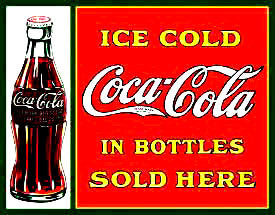 Coke-Sold Here in Bottles