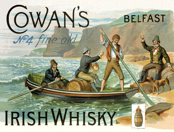 Cowan's Irish Whisky ( Boat )