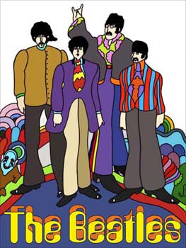 Beatles-Retro