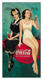 Coke-50th Anniversary Bathers