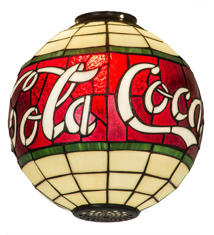 "12"" Diameter Coca-Cola Shade"