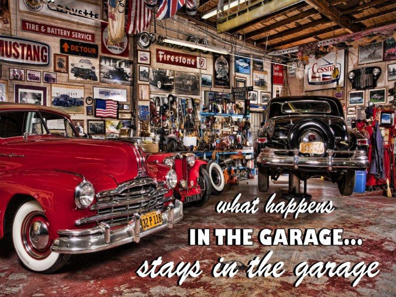What Happens in the Garage..!