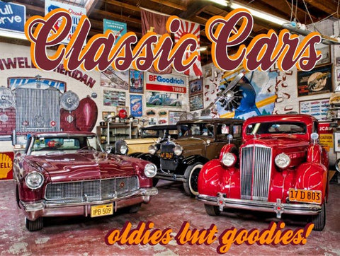Classic Cars-Oldies but Goodies!