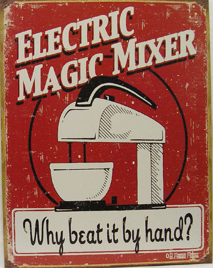 Electric Magic Mixer-Why beat it by hand?
