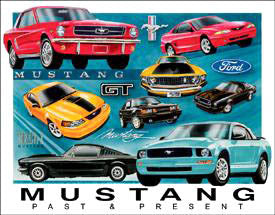 Mustang Past-Present