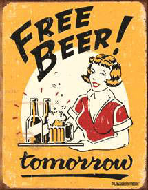 Free Beer-Tomorrow