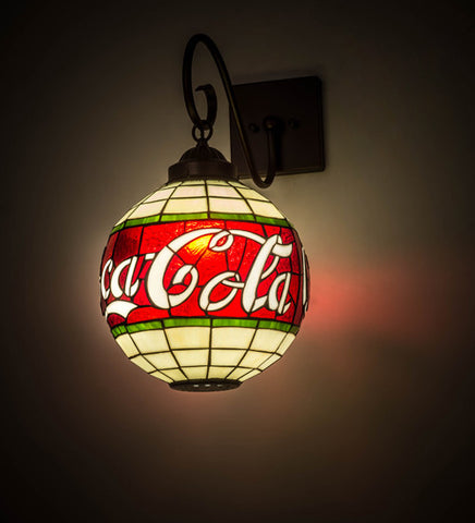 "12""W Coca-Cola Wall Sconce"