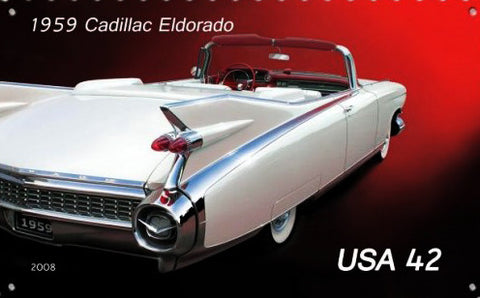 "1959 Cadillac Metal Sign (24"" by 16"")"