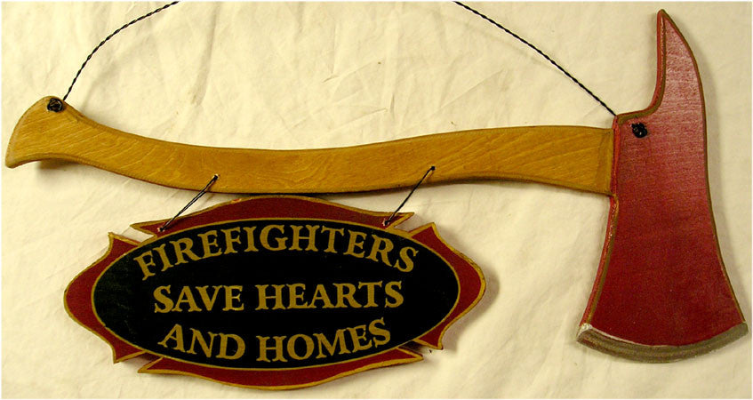 Fire Axe-Firefighters Saves Hearts