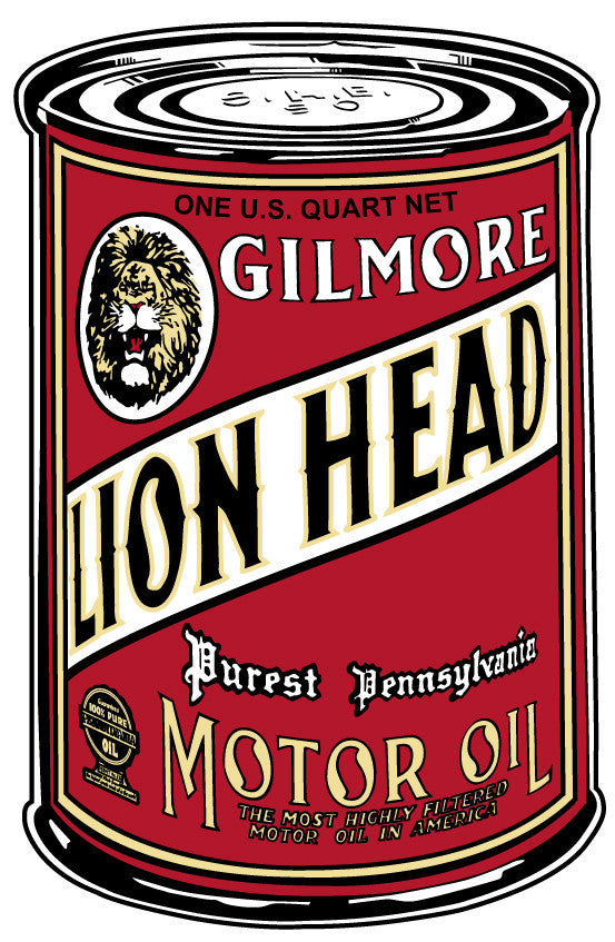 Gilmore Lion Head Oil Can (large)