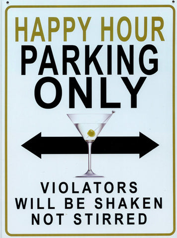 Happy Hour Parking Only