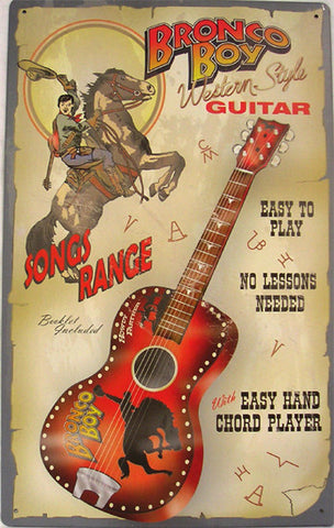 Bronco Boy Guitar