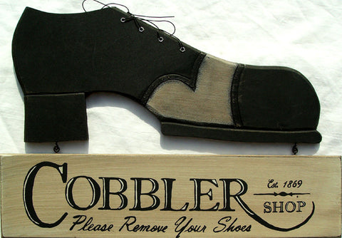 Cobbler (lot of 2) unit cost $15.00