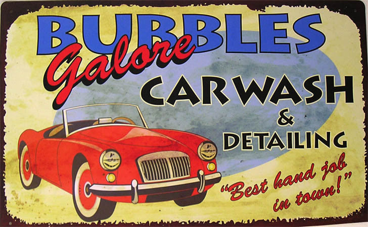 Bubbles Car Wash