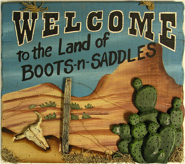 Welcome-Boots-n Saddles