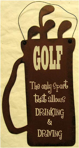 Golf Bag-Drinking & Driving