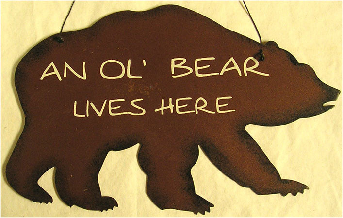 An Ol' Bear Live Here (lot of 2) unit cost $4.00