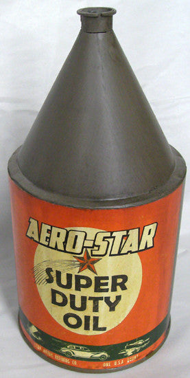 Aero-Star Oil Can