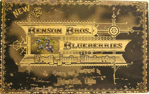 Benson Bros. Blueberries