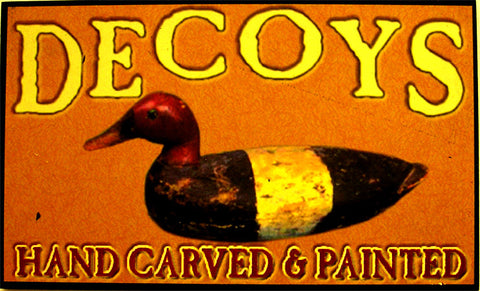 Decoys-Hand Carved & Painted