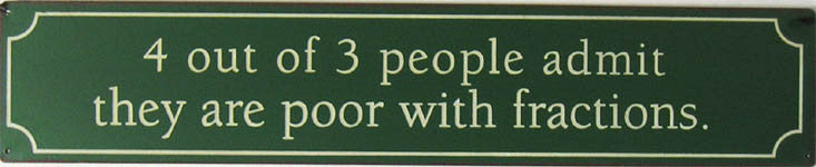 4 out of 3 people...