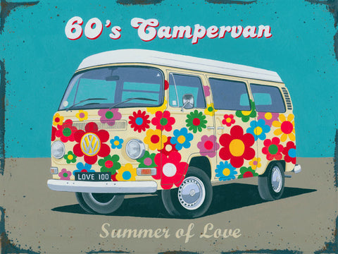 Campervan  60's-Summer of Love