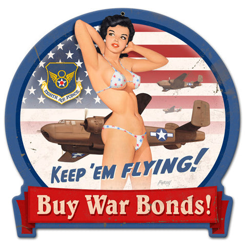 B25 War Bonds