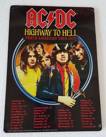 ACDC Highway to Hell North American Tour 1979