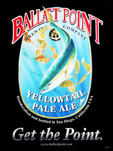 Ballast Point Pale Ale Metal Sign
