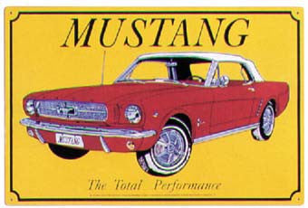 1965 Mustang (red)