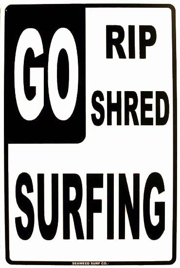 GO Rip-Shred-Surfing