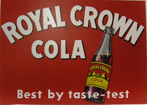 Royal Crown Cola-Best By Taste-Test