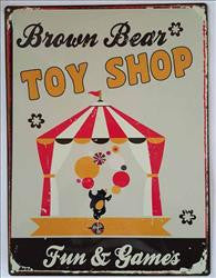Brown Bear Toy Shop
