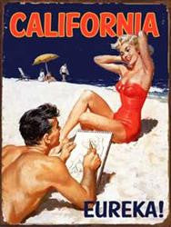 California Pinup