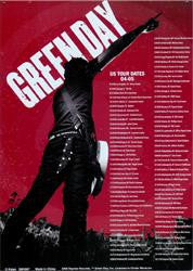 Green Day US Tour 04-05 (lots of  4) only $3.00 ea