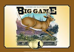 Big Game (lot of 4) unit cost $5.50 /2