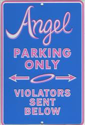 Angel Parking Only