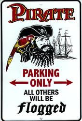 Pirate Parking Only