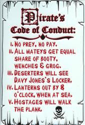 Pirate's Code of Conduct